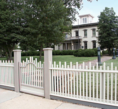 Danville Museum Picket Fence