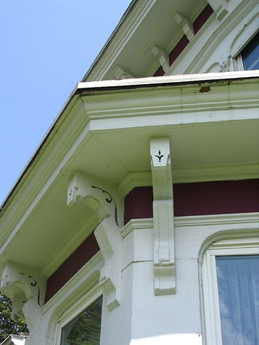 Bay window - Victorian Italianate