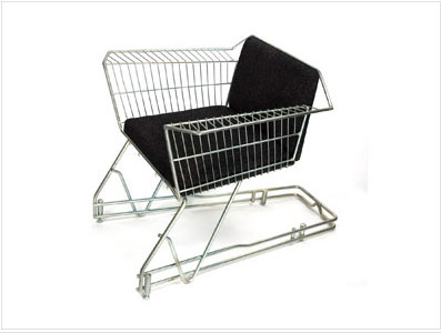 shopping cart chair from reestore